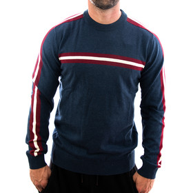 Petrol Industries Sweatshirt Stripes 242 navy 1