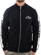 Petrol Industries Sweatjacke crude oil 347 schwarz