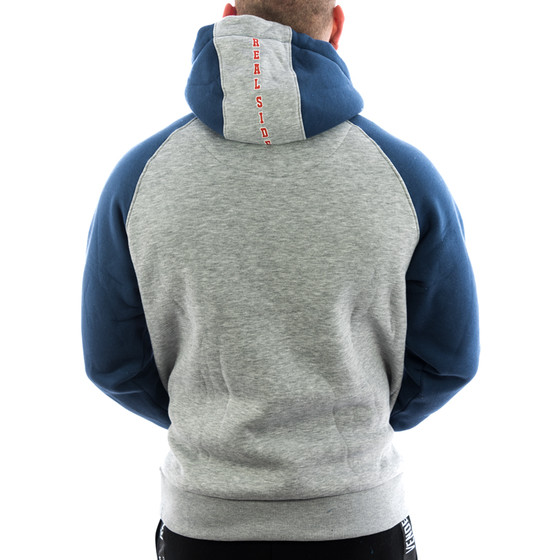 Vendetta Inc. Hoodie Real Side 4008 grau 2