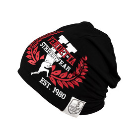 Vendetta Inc. Slouch Beanie Logo Patch black 11