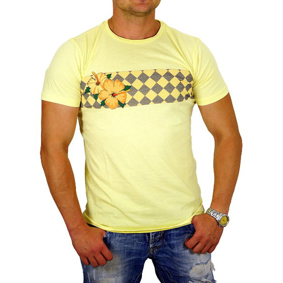 Superfly T-Shirt Herren S-12458 lemon Hawai