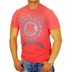 John Fletch T-Shirt Herren 5232 coral Supplies