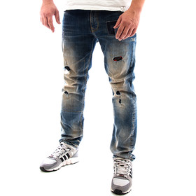 Petrol Industries Jeans Destroyed 023-1 blau 1