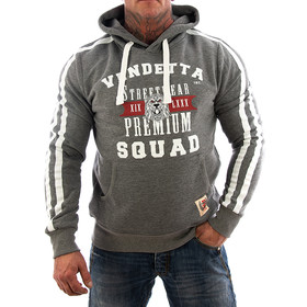 Vendetta Inc. Sweatshirt Squat VD-3005 grau 1