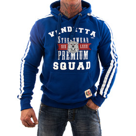 Vendetta Inc. Sweatshirt Squat VD-3005 navy 11