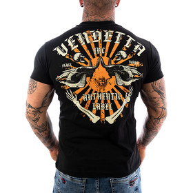 Vendetta Inc. Shirt Skull Bones black VD-1089 11