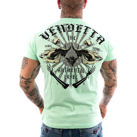 Vendetta Inc. Shirt Skull Bones green water VD-1089 11