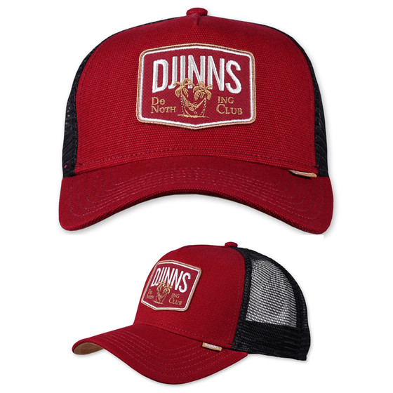 Djinns Trucker Cap Nothing Club wine 1
