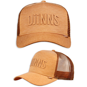 Djinns Trucker Cap Basic Beauty Jersey braun 1