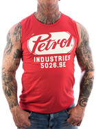 Petrol Industries Tank Top Shirt SLR 700 red 3XL