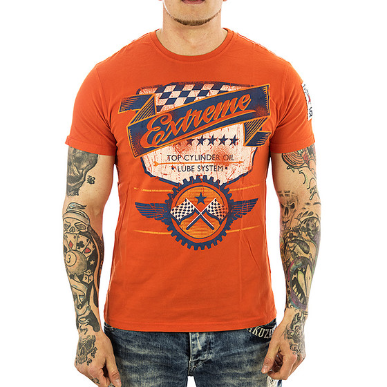 Superfly T-Shirt Herren S-11435 deep orange extreme