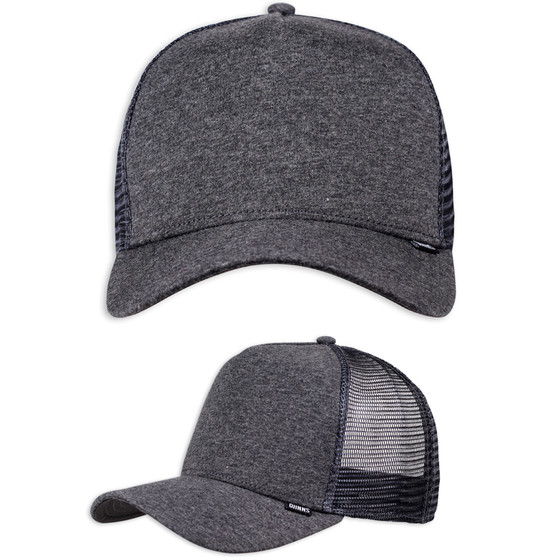 Djinns Trucker Cap Cut & Sew charcoal 1