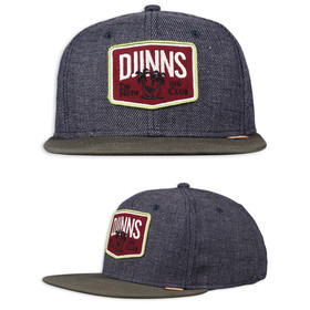 Djinns 6 Panel Snapback Rough Canvas 1