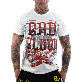 Vendetta Inc. Bad Blood Shirt weiß VD-1109 1