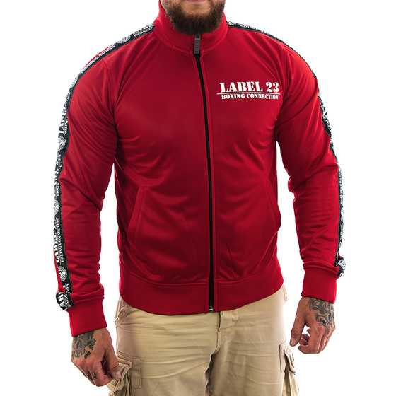 Label 23 Trainingsjacke BC Classic rot 1