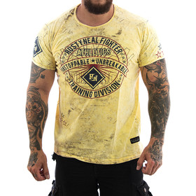 Rusty Neal T-Shirt Division 15239 yellow 11