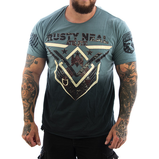 Rusty Neal T-Shirt Realist 15248 anthrazit 1
