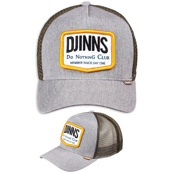 Djinns Trucker Cap Nothing Club II grau 1