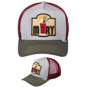 Djinns Trucker Cap Bloody Mary grau 1