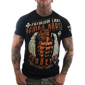 Vendetta Inc. Shirt Bomb Angel VD-1122 schwarz 1