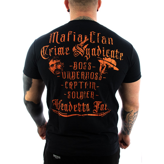 Vendetta Inc. Shirt Mafia Clan schwarz VD-1144 1