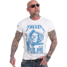 Yakuza Shirt Afraid To Die weiß 18054 1
