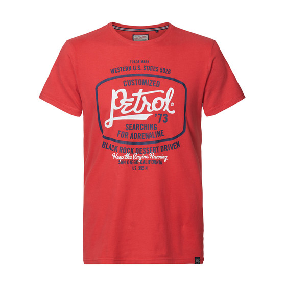 Petrol Industries Shirt Black Rock rot 605 1