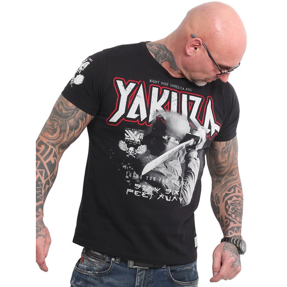 Yakuza Shirt Six Feet schwarz 18046 1