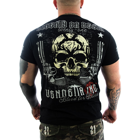 Vendetta Inc. Shirt Liberty or Death schwarz 1