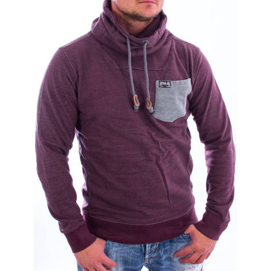 Petrol Industries Sweatshirt SWC 332 burgundy