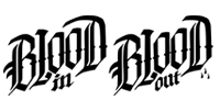 blood in blood out logo