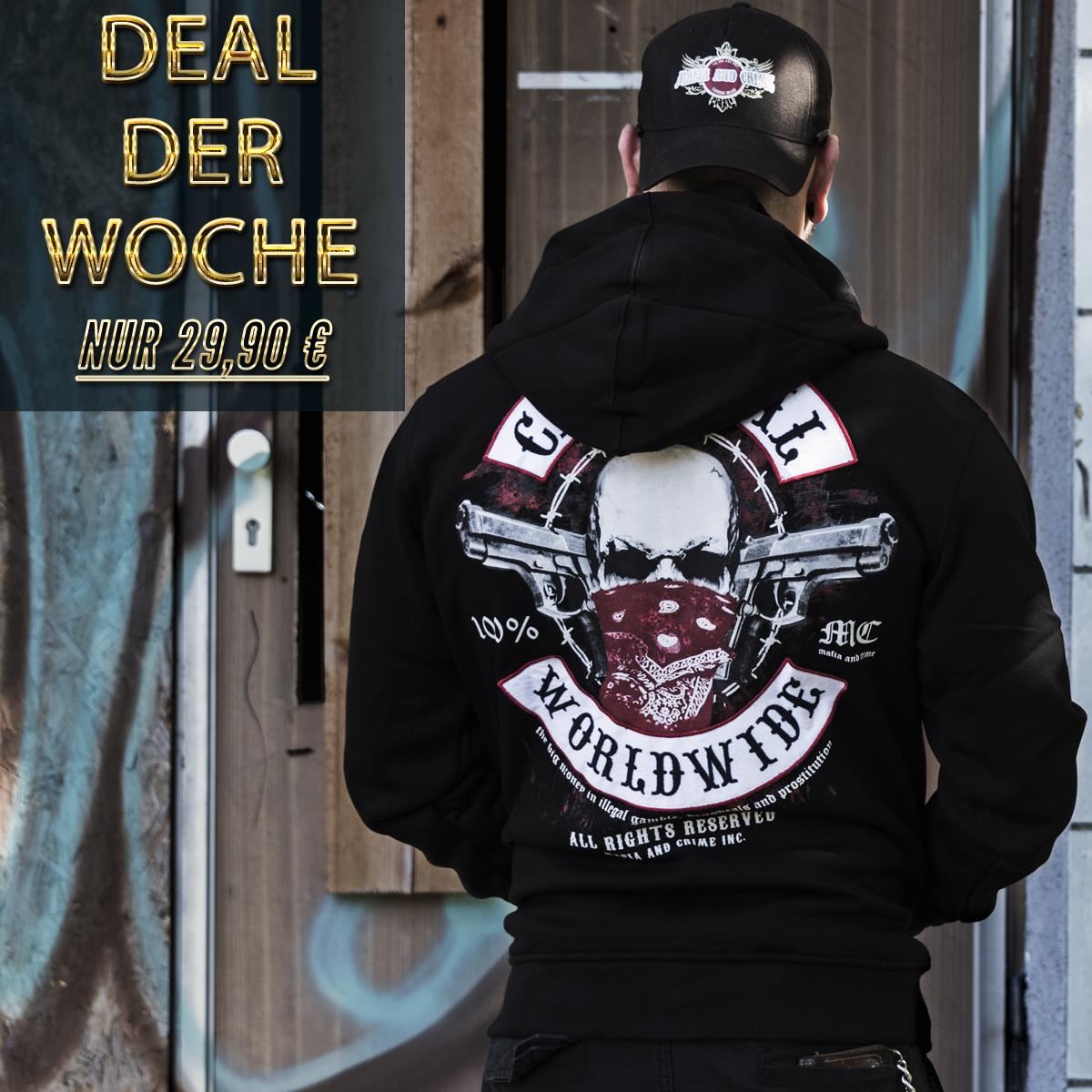 Mafia & Crime Deal Bild M-359 schwarz