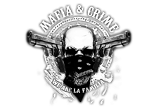 Mafia & Crime Logo 7Guns